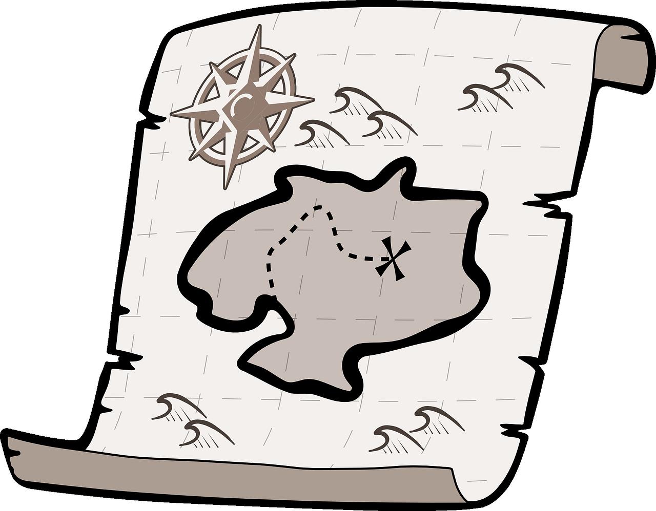好きなものが手に入る!「宝物リスト」と「宝の地図」って何?