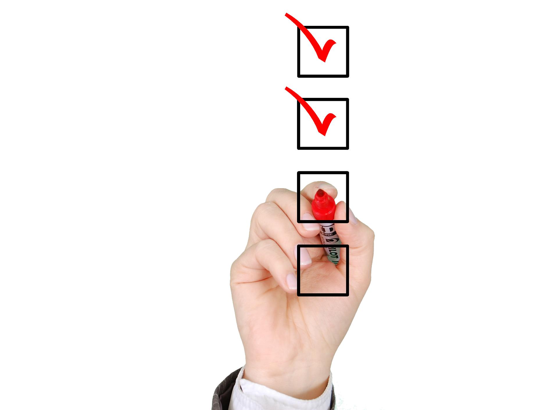 「チェックリスト」がいかに役立つか。
